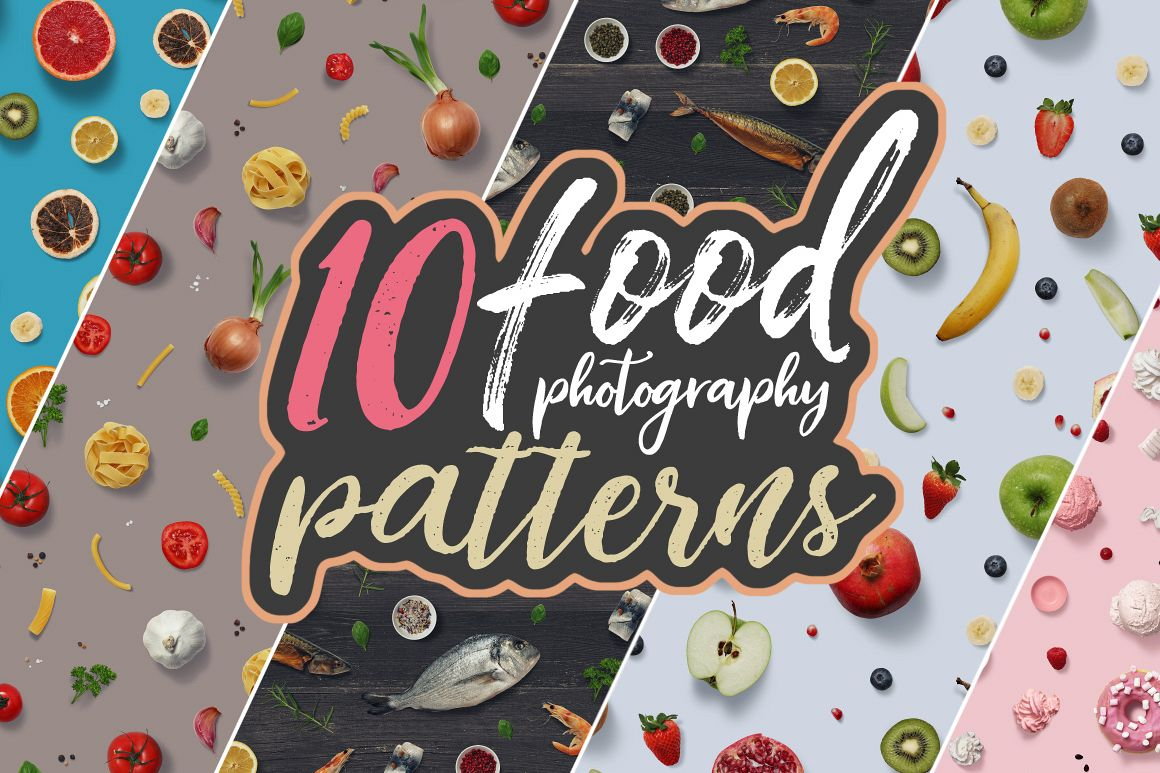 10 Food Photography Patterns example image 1