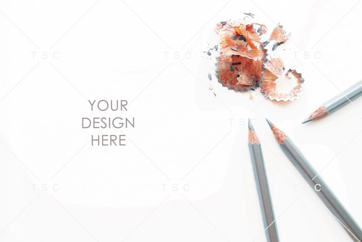 Silver Pencils Stock Photo example image 1