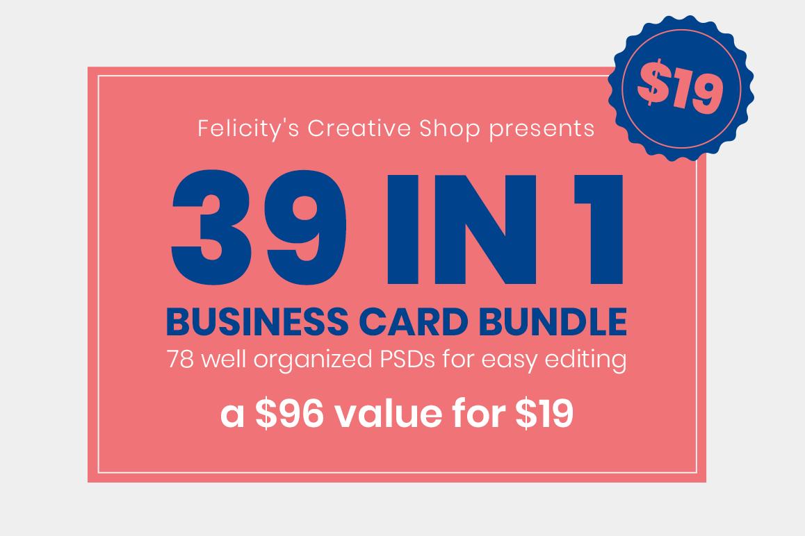 Business Card Bundle 01 example image 1