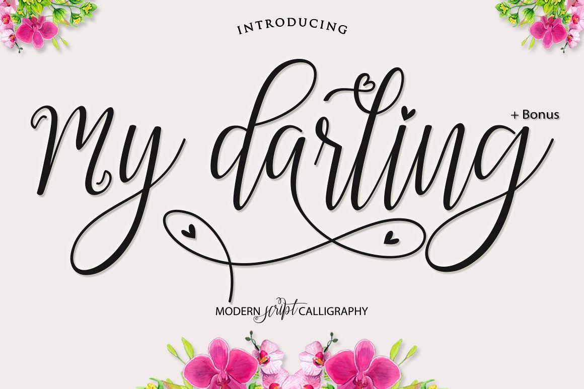 My Darling Script  Bonus example image 1