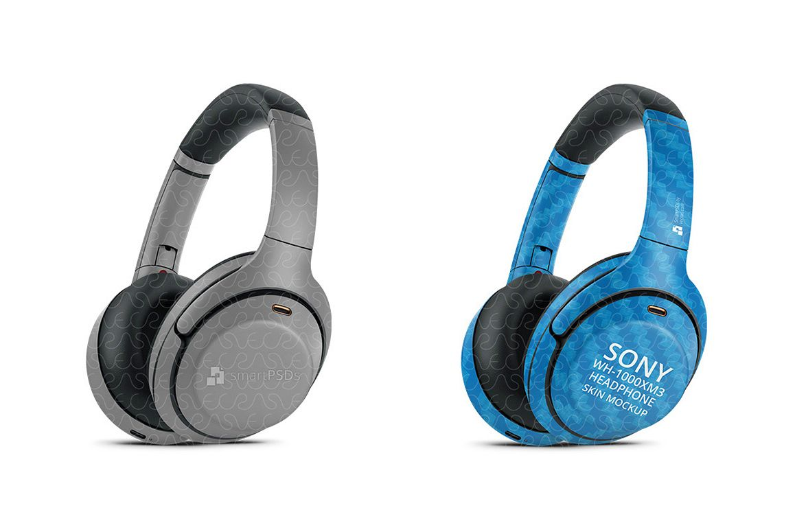 Sony WH-1000XM3 Wireless Headphone 2019 Smart PSD Skin example image 1