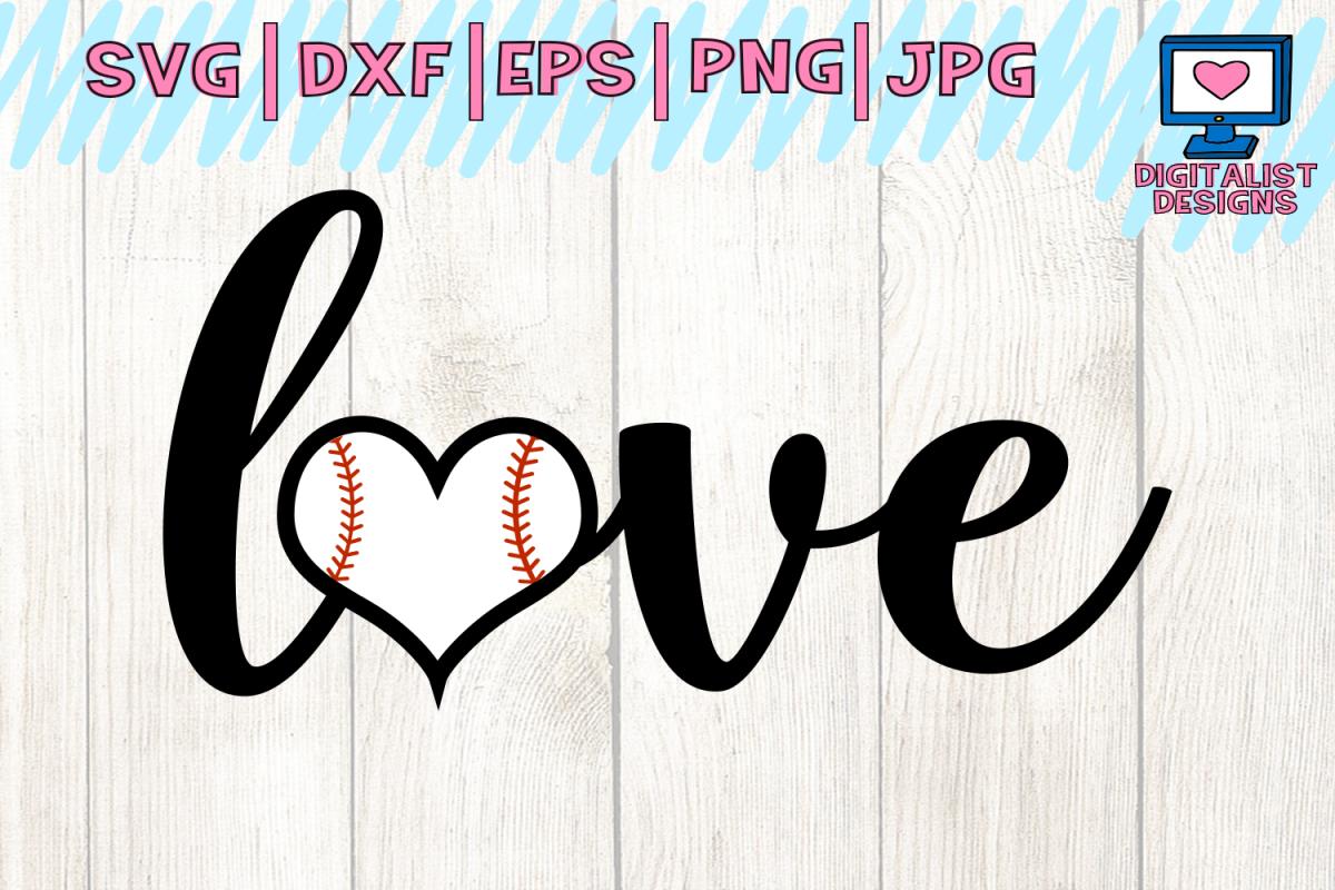 baseball svg heart svg baseball shirt design bundles