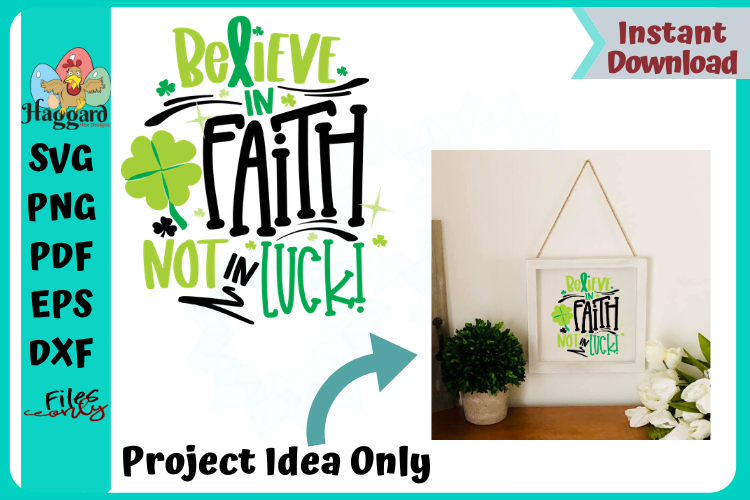Believe in Faith example image 1