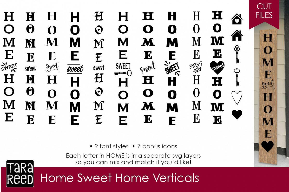 Home Sweet Home Verticals Bundle example image 1