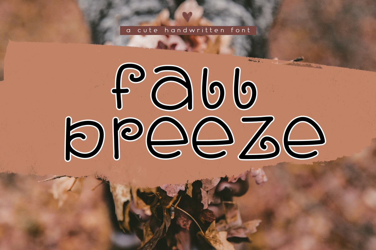 Fall Breeze - A Fun Handwritten Font example image 1