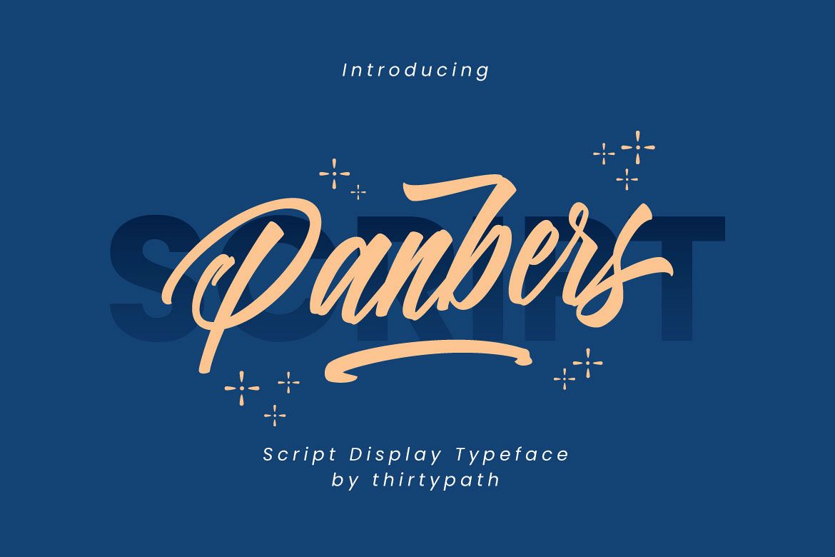 Panbers Script example image 1