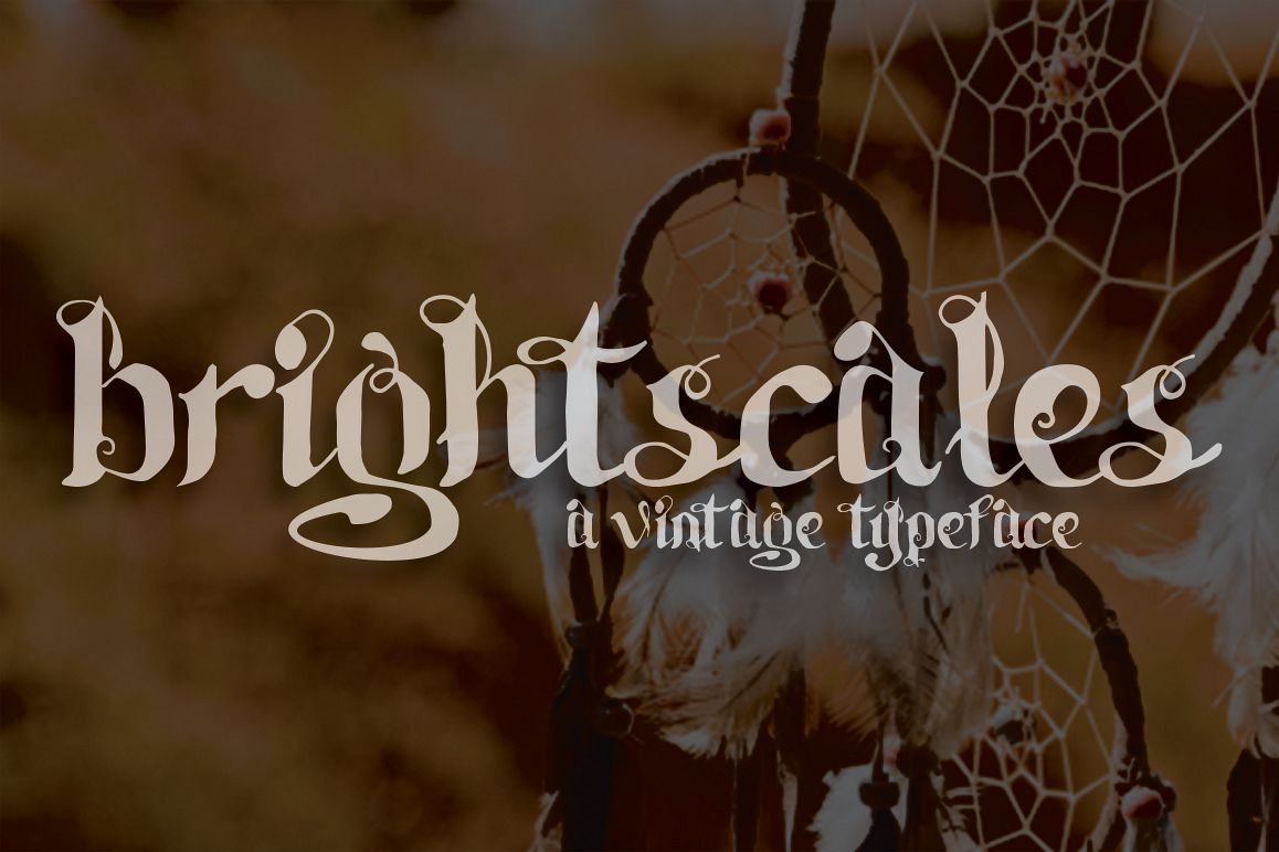 Brightscales Typeface example image 1