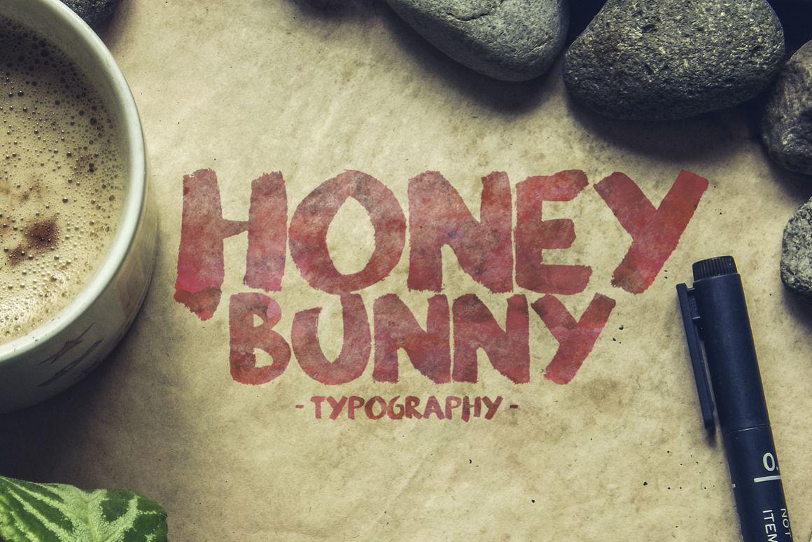 Honey Bunny Script Typeface example image 1