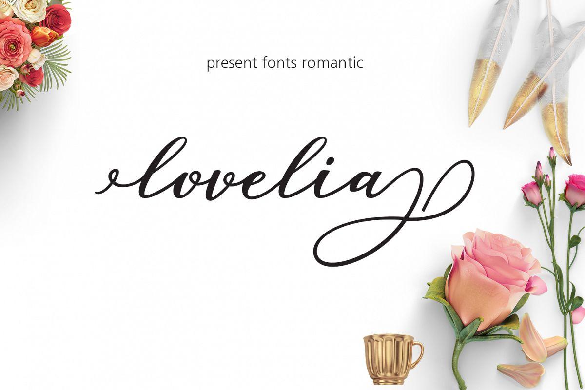Lovelia Script & Comic example image 1