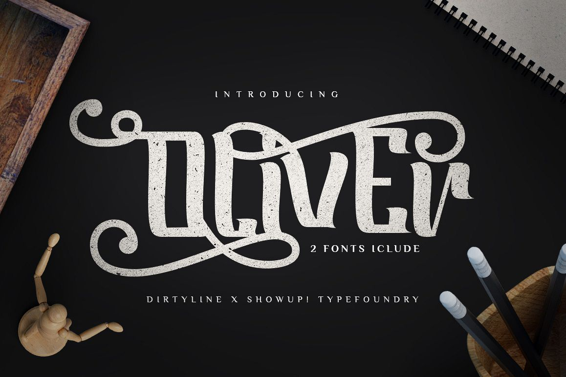 Oliver Typeface example image 1