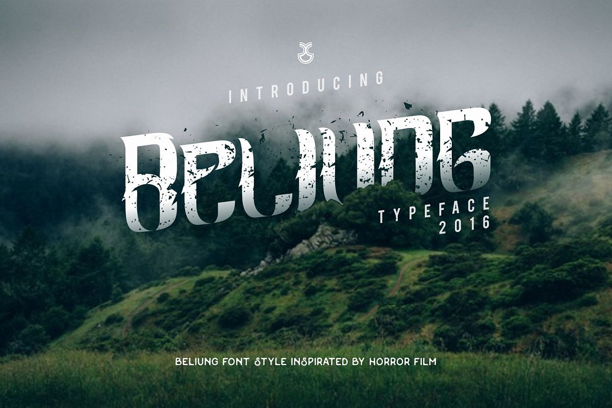 Beliung Typeface Cover