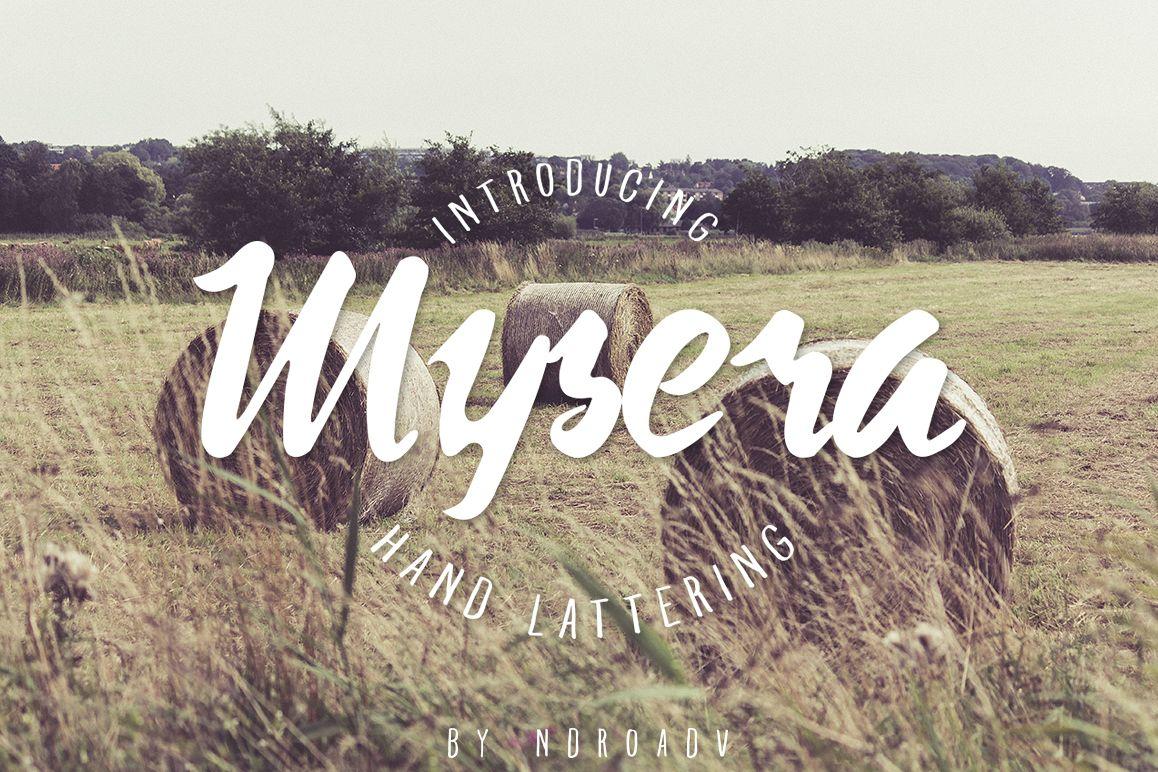 Mysera Typeface example image 1