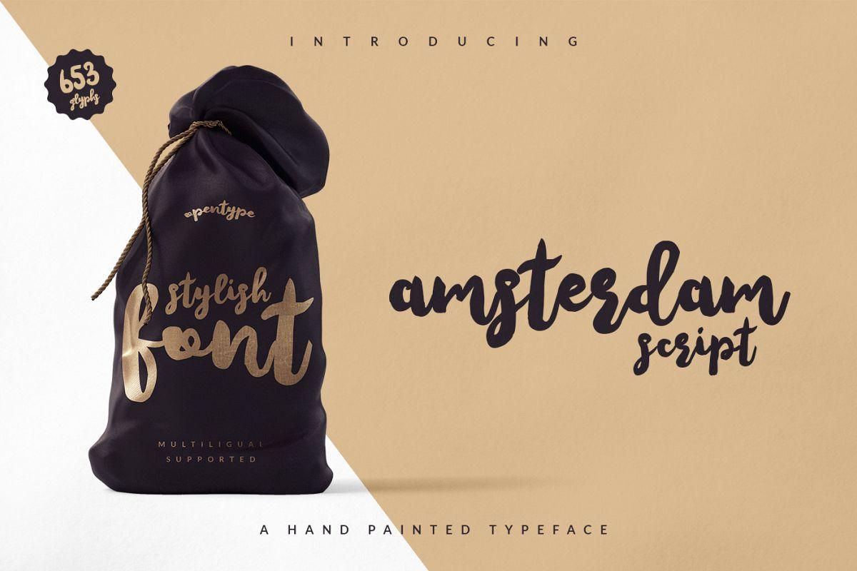 Amsterdam Script example image 1