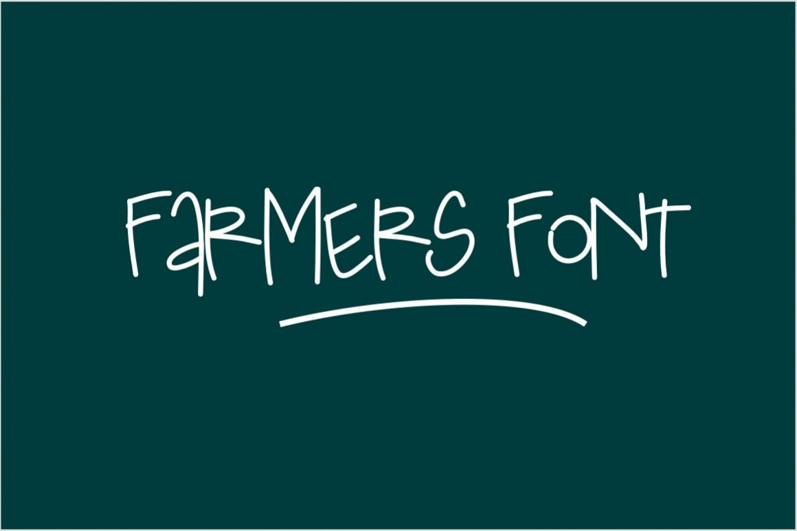 Farmers Font example image 1