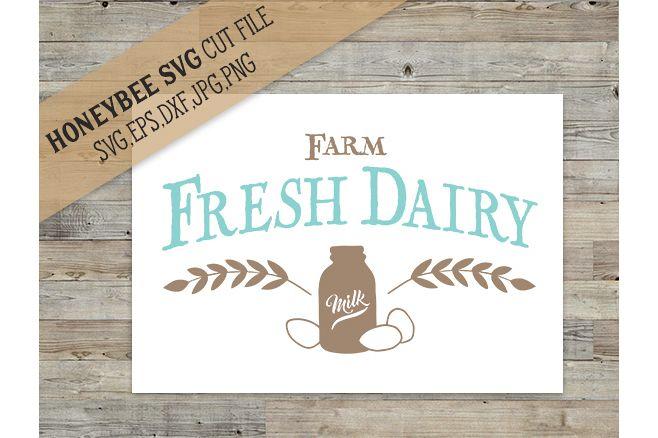 Farm Fresh Dairy svg example image 1