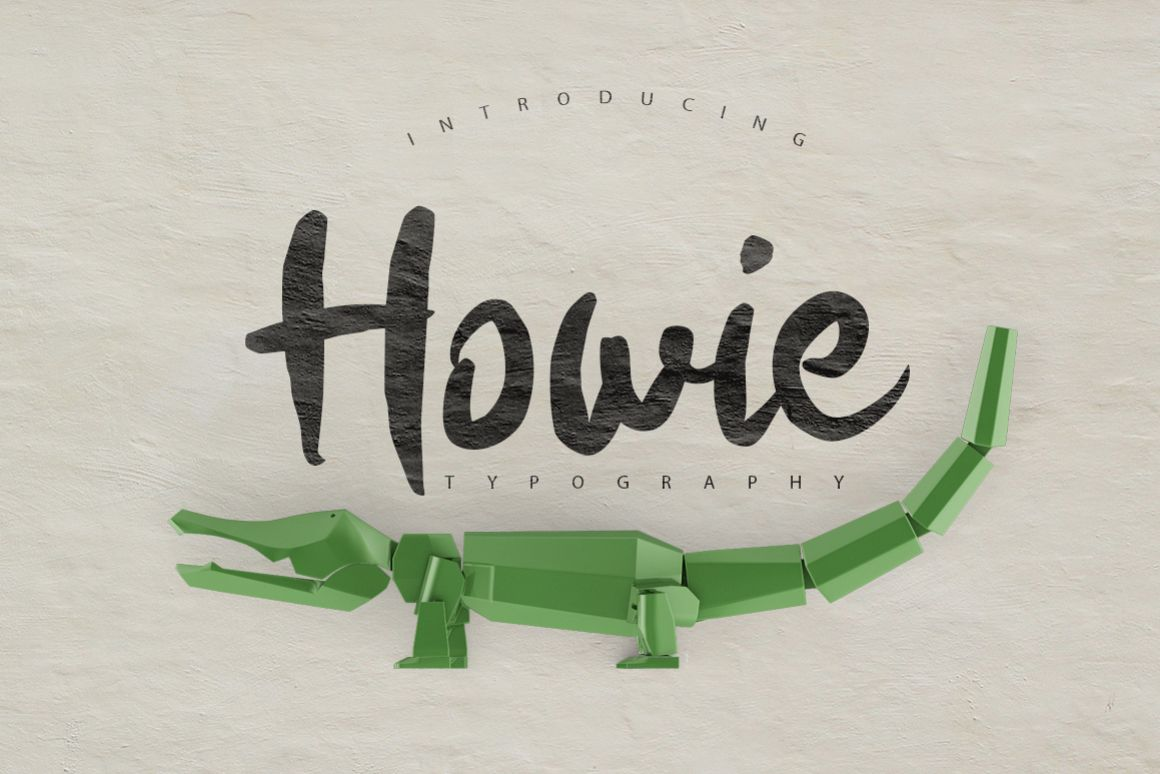 Howie Typeface example image 1