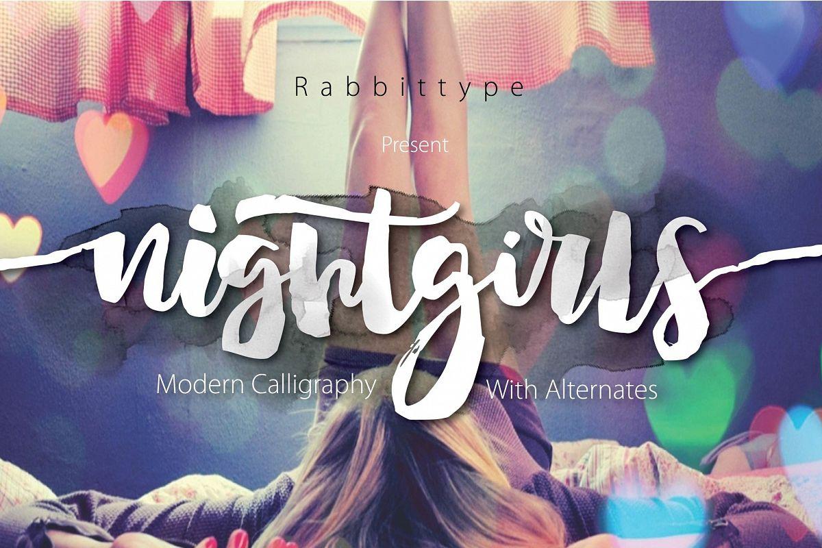 Nightgirls Script example image 1