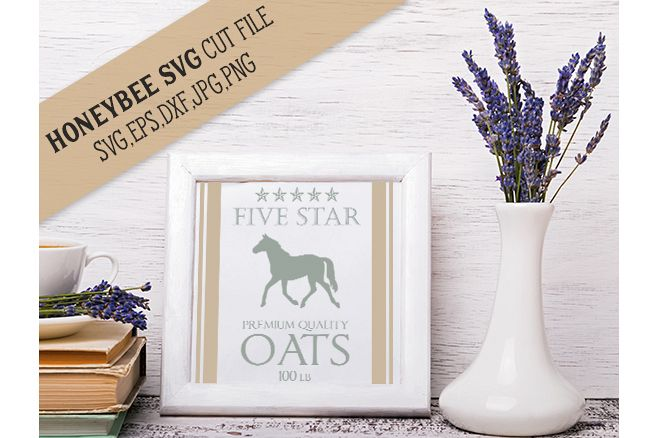 Five Star Oats svg example image 1