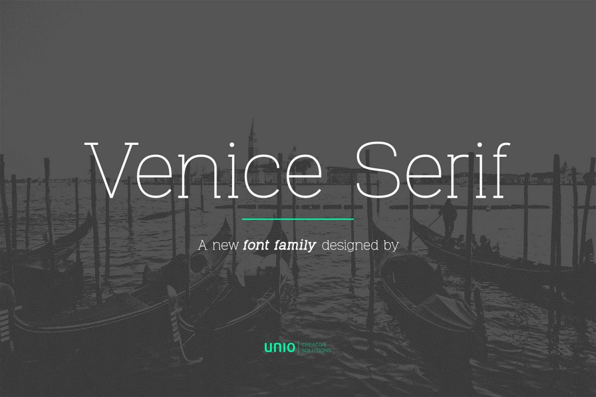 VeniceSerif example image 1
