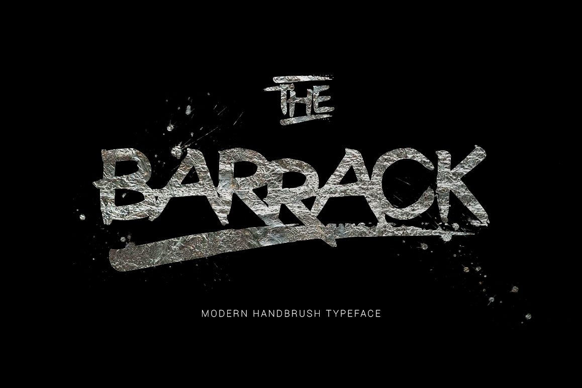 The Barrack Typeface example image 1