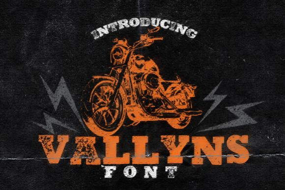 Vallyns Font example image 1