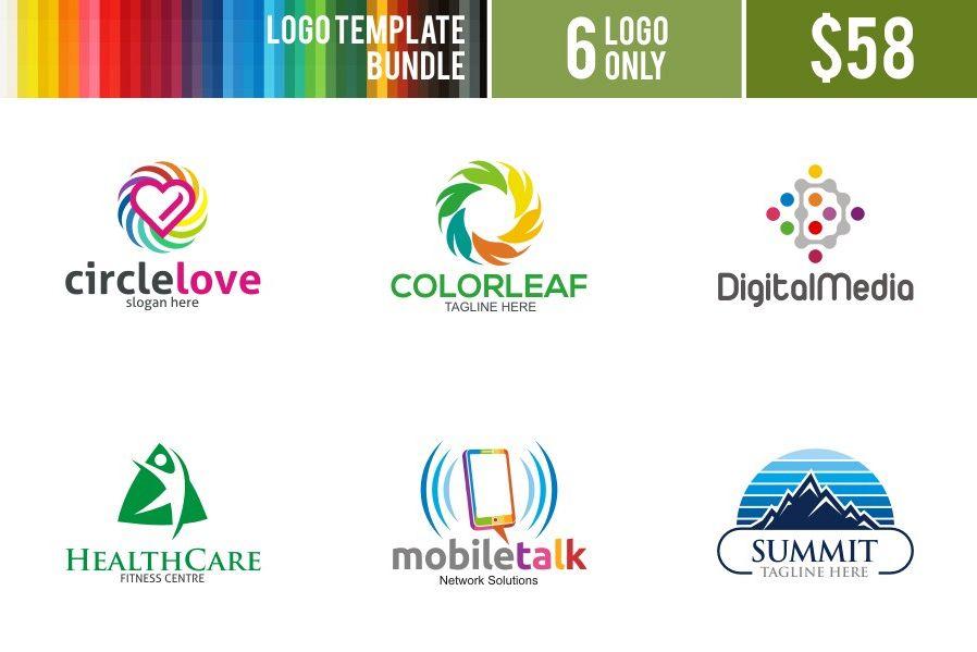 Logo Bundle#1 example image 1