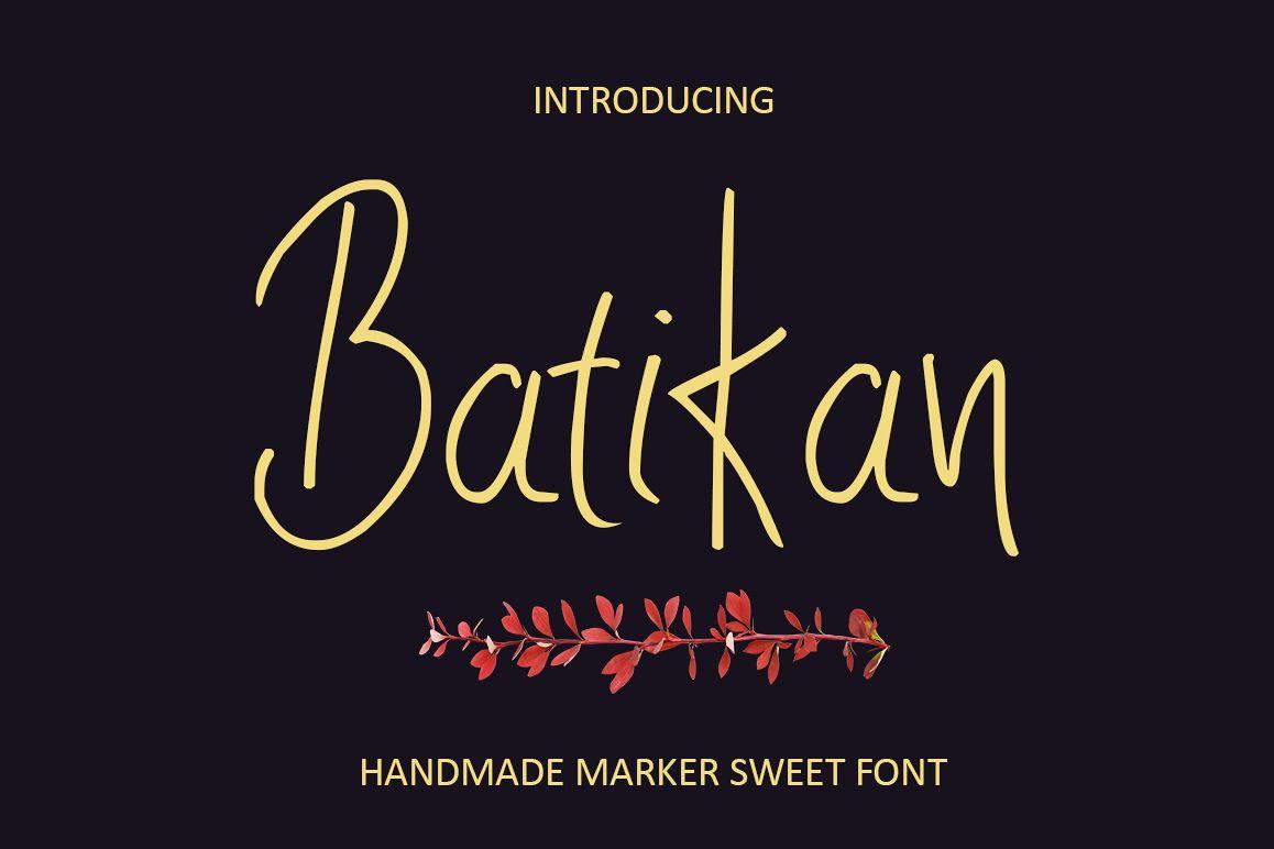 Batikan example image 1