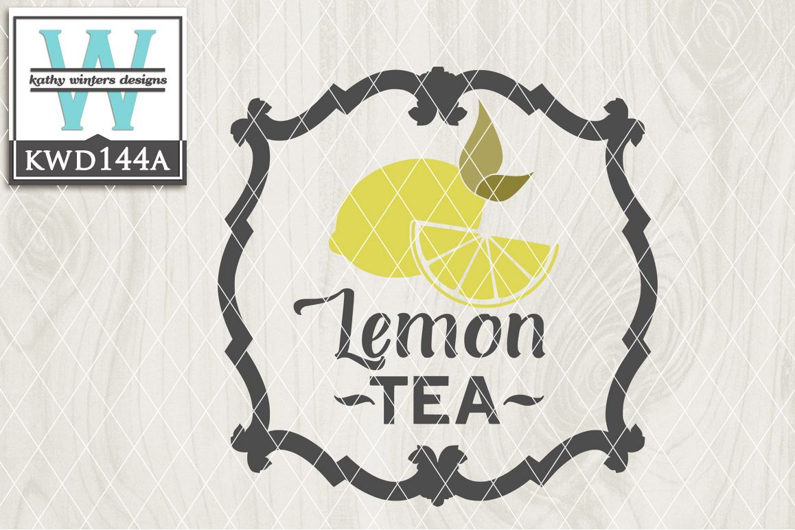 Tea Cutting File KWD144A example image 1