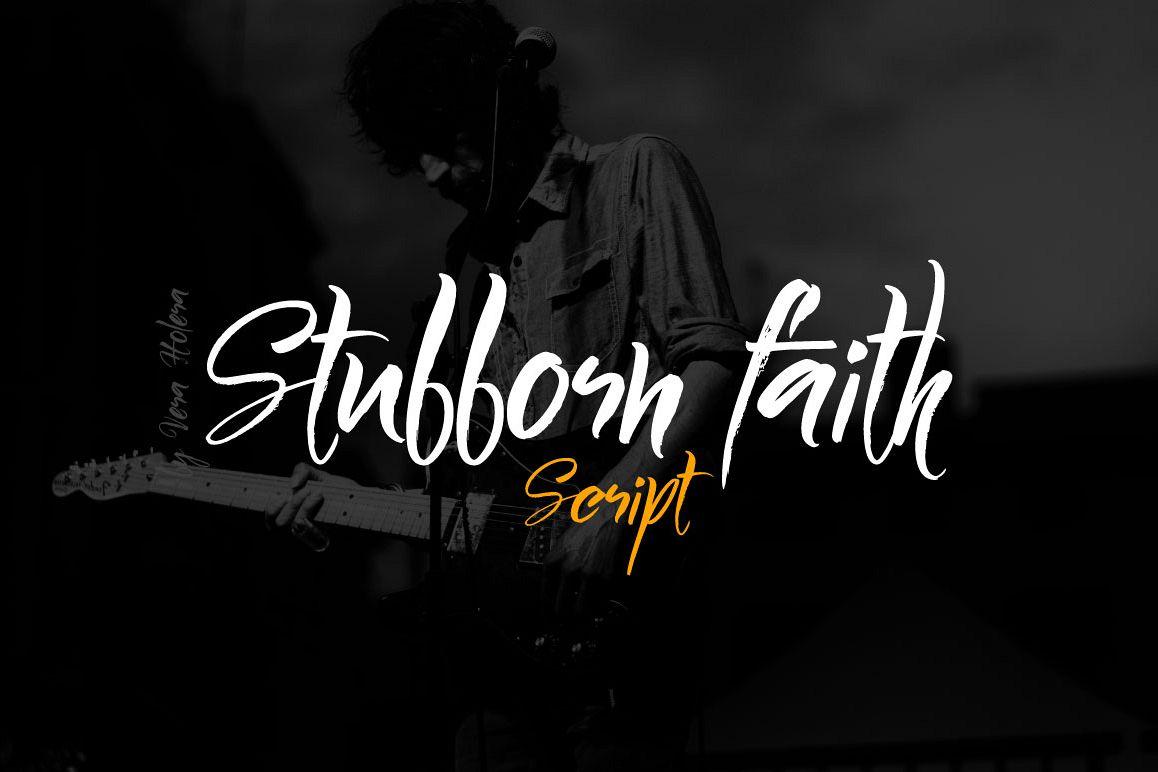 Stubborn Faith Script example image 1