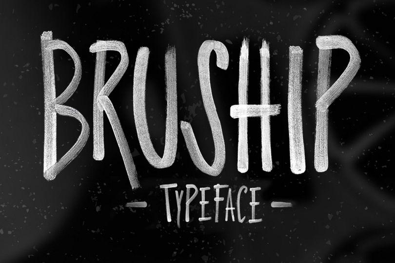 Bruship Font example image 1