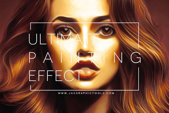 Ultimate Painting Effect | Photoshop Actions example image 1