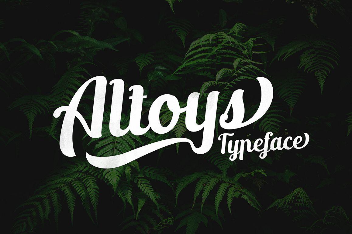 Altoys Typeface example image 1
