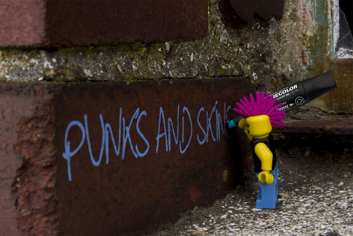 Punk's and Skins Typeface example image 1