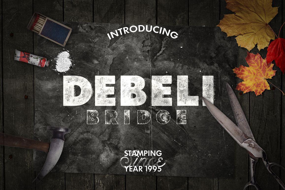 Debeli 2 Typeface example image 1