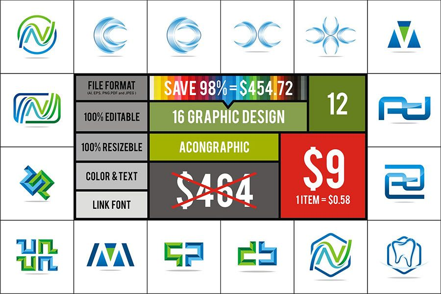 Graphic Vector suitable for Logo #12 example image 1