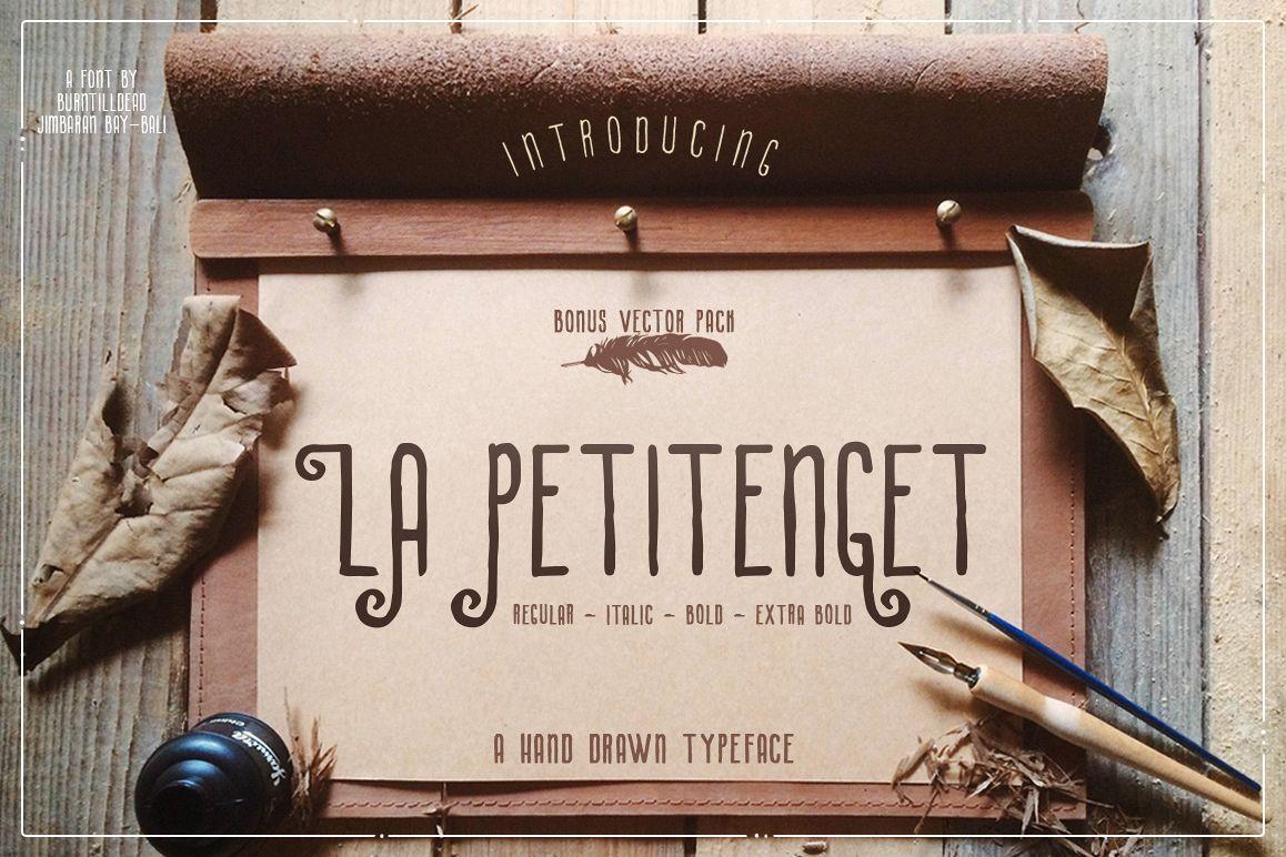 La Petitenget + Vector Pack example image 1