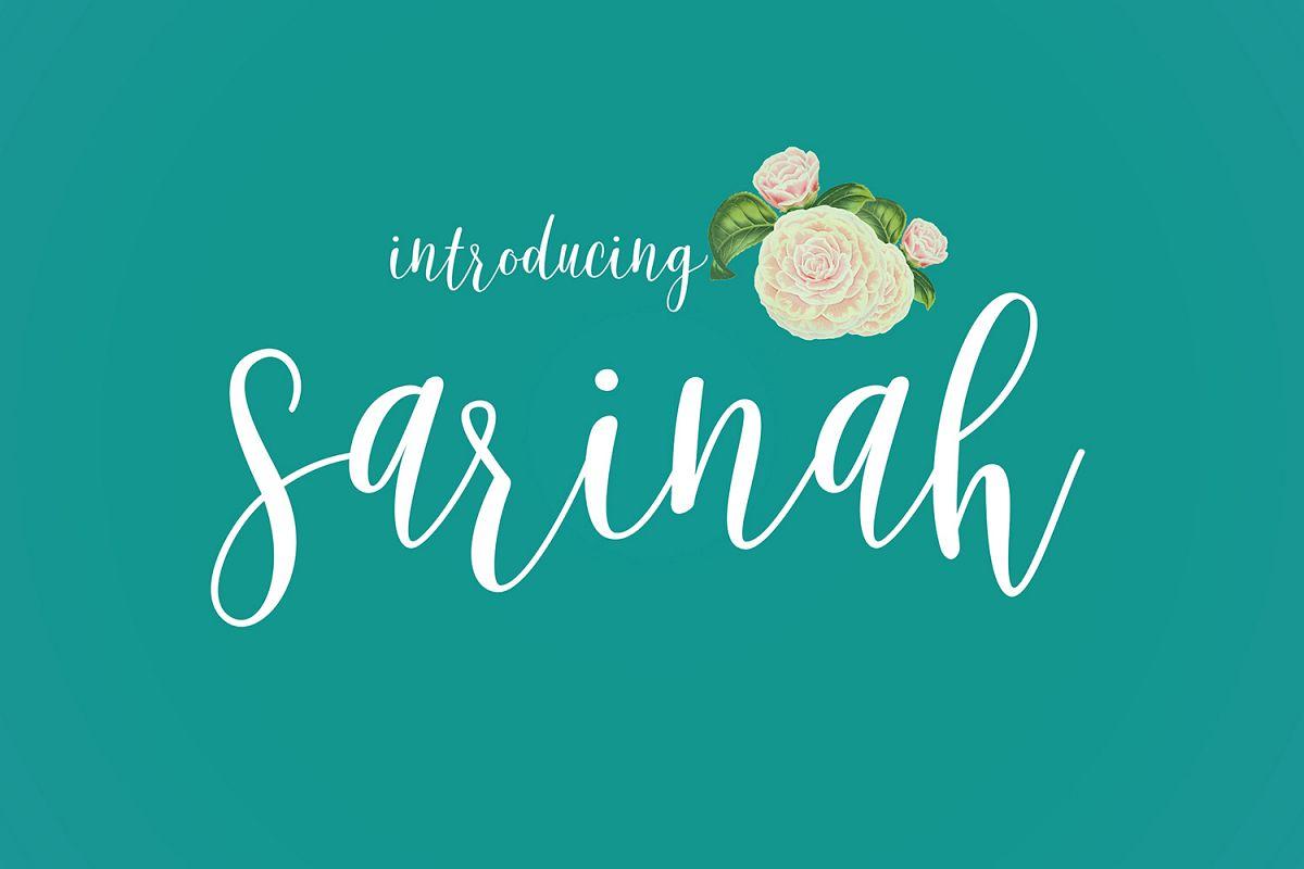 Sarinah Script example image 1