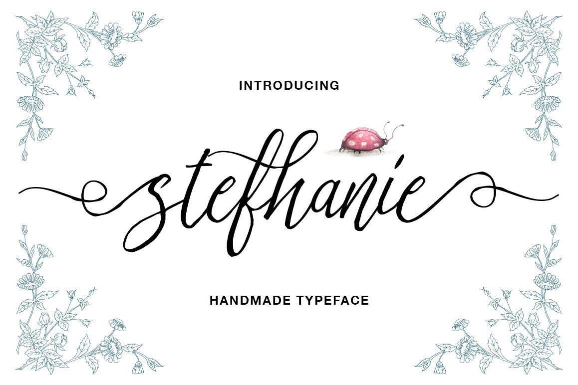 Stefhanie-Typeface-Fonts