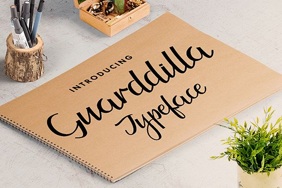 Guarddilla Typeface example image 1