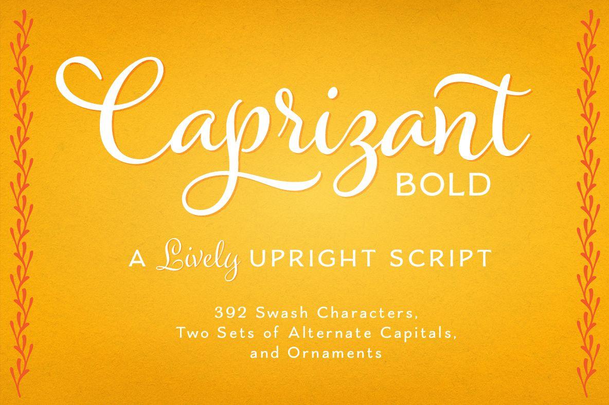 Caprizant Bold example image 1