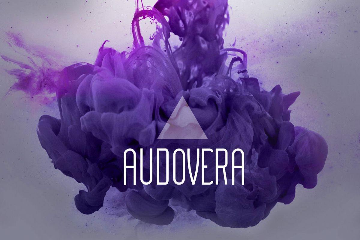 Audovera typeface example image 1