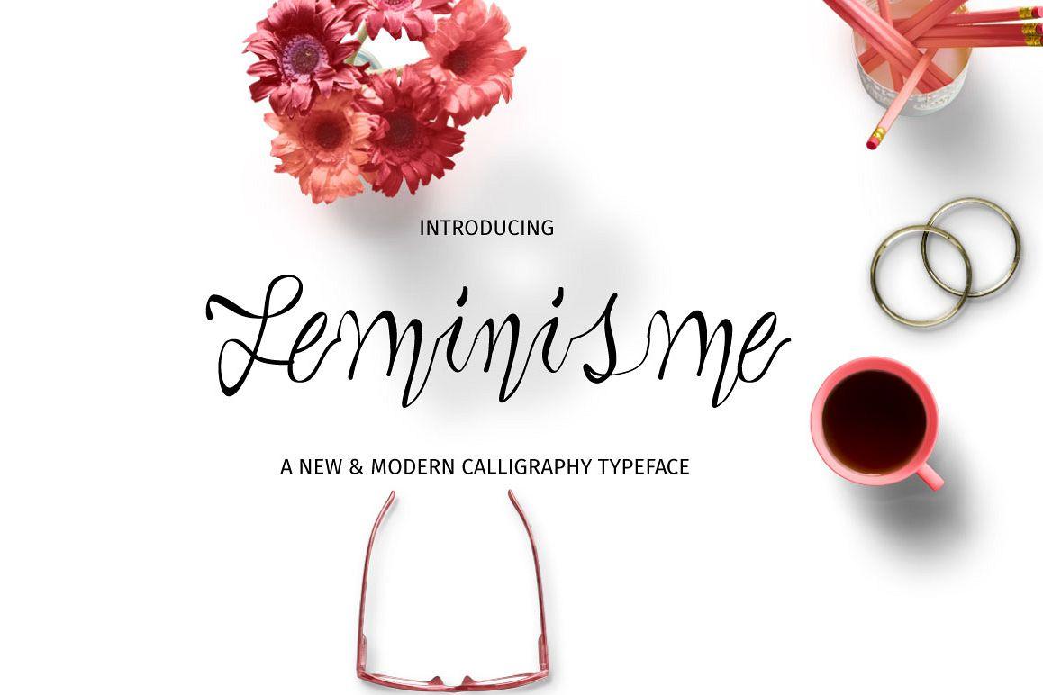 Feminisme Typeface example image 1