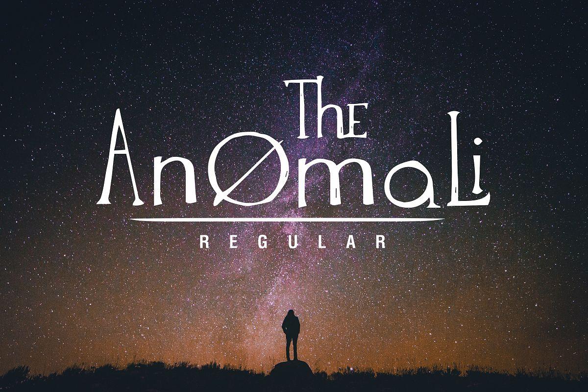 The Anomali example image 1