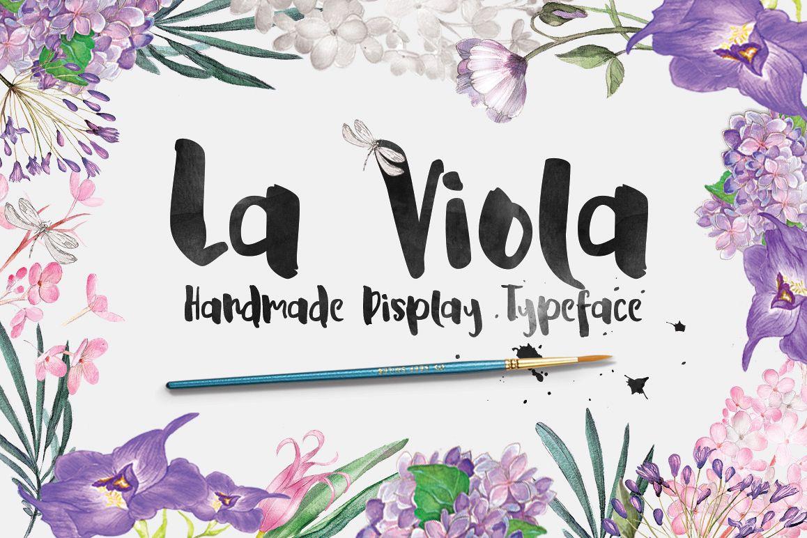 La Viola Typeface example image 1