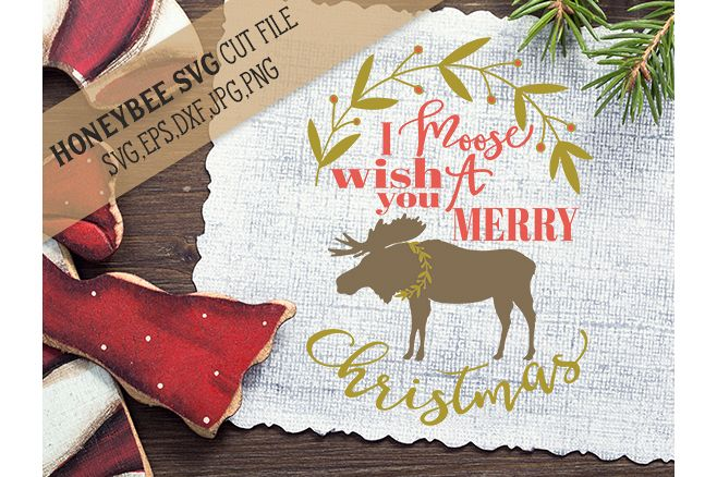 I Moose Wish You A Merry Christmas svg example image 1