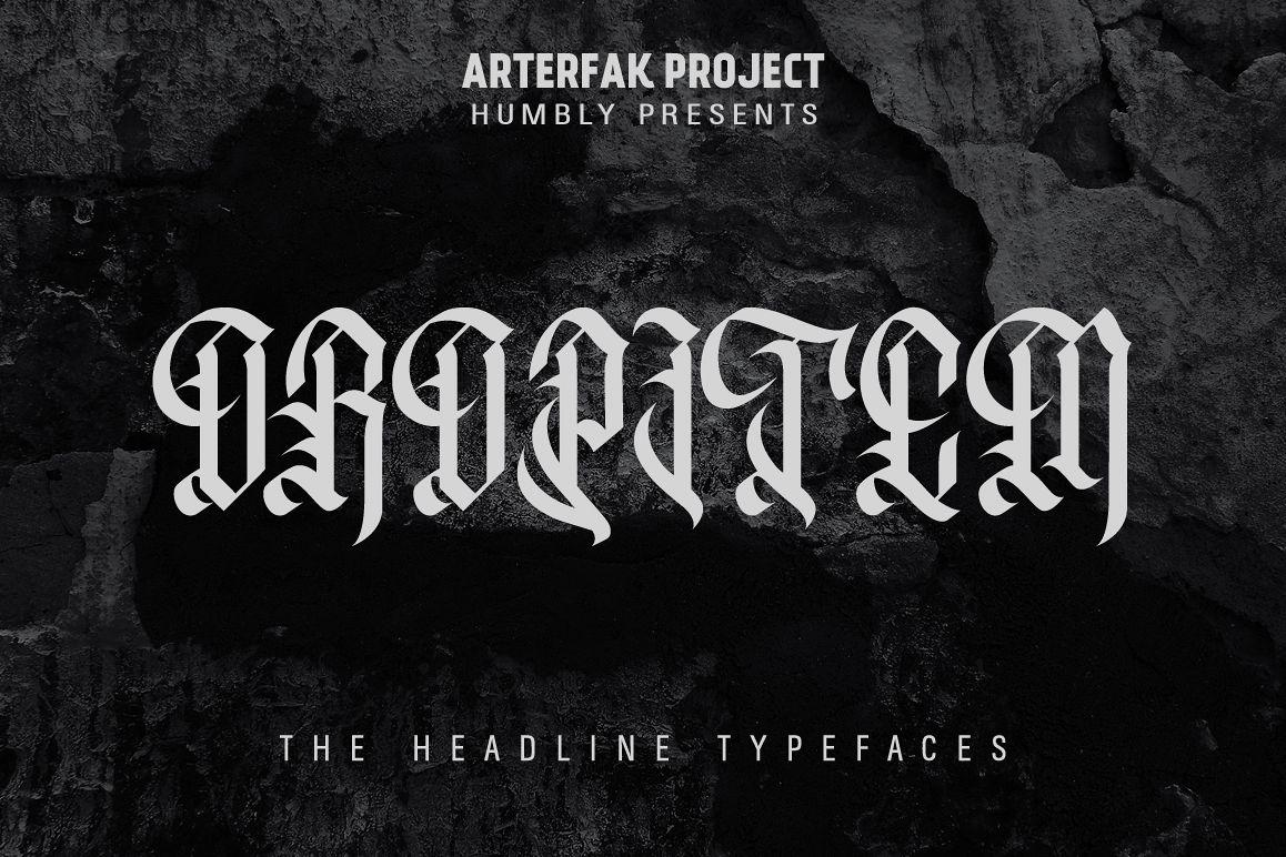 Oropitem Typeface example image 1