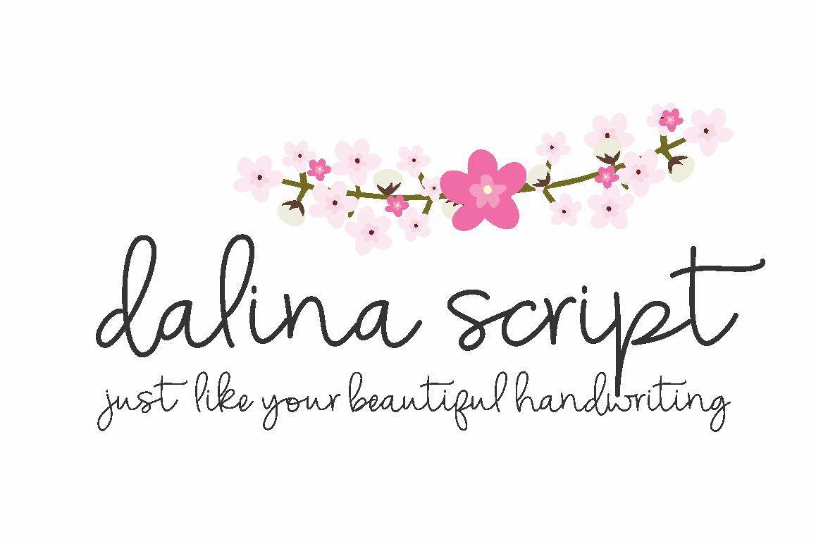 Dalina Script example image 1