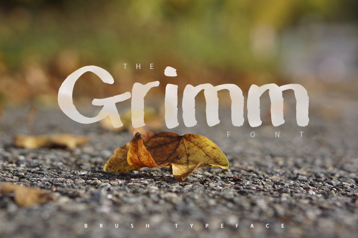 The Grimm Brush Typeface example image 1