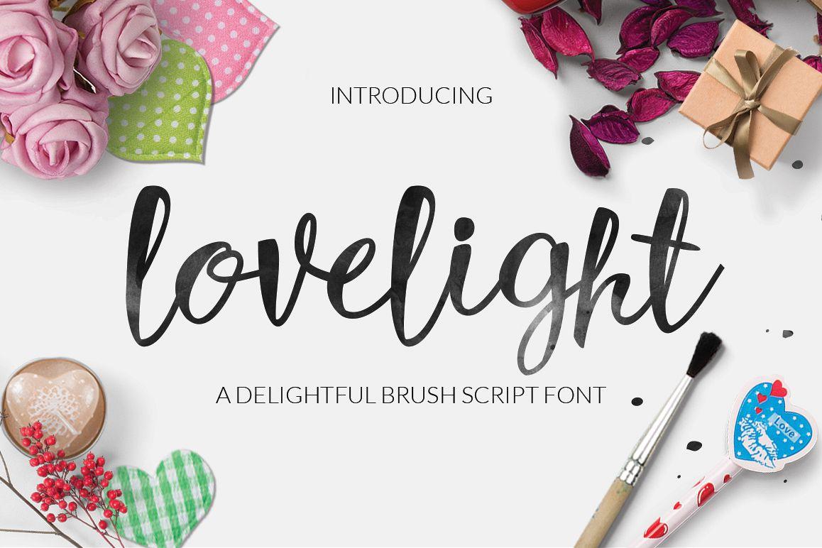 Lovelight Typeface example image 1