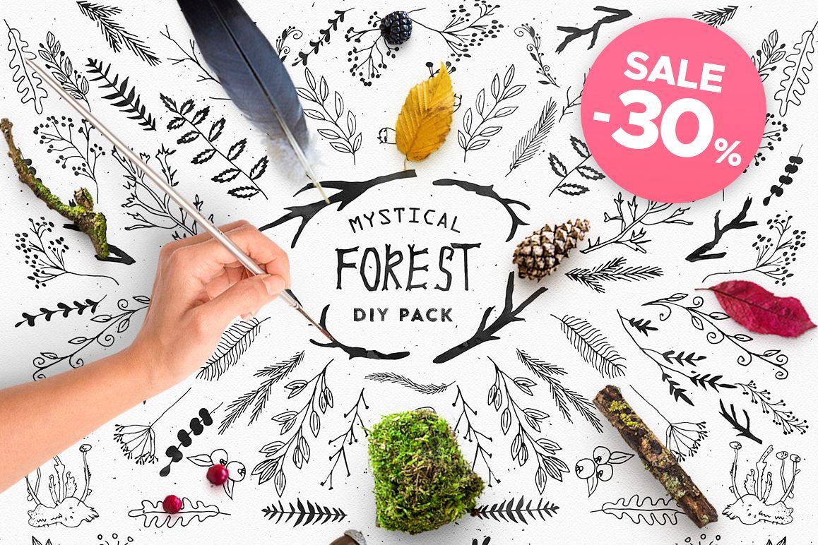 Mystical Forest DIY + Big Bonus example image 1